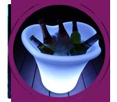 glow ice bucket
